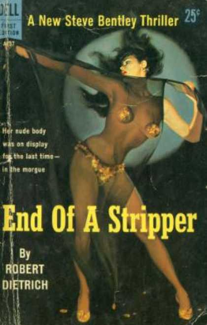 Dell Books - End of a Stripper - Robert Dietrich