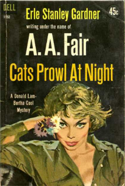 Dell Books - Cats Prowl at Night