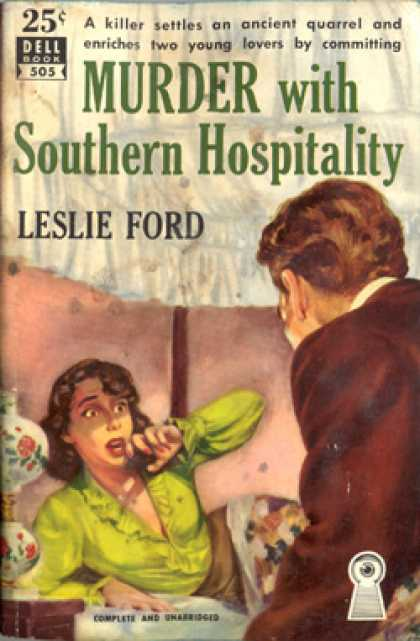 Dell Books - Murder with southern hospitality - Leslie Ford