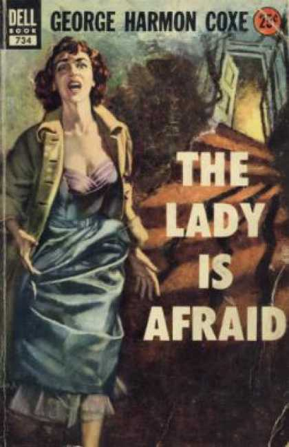 Dell Books - The Lady Is Afraid - George Harmon Coxe