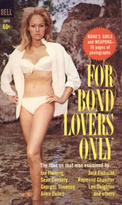 Dell Books - For Bond Lovers Only 1st Edition - Sheldon Lane