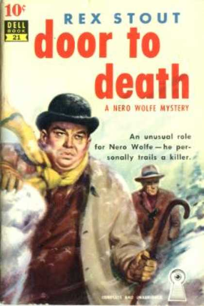 Dell Books - Door To Death- Dell 10 Cent Book #21 - Rex Stout
