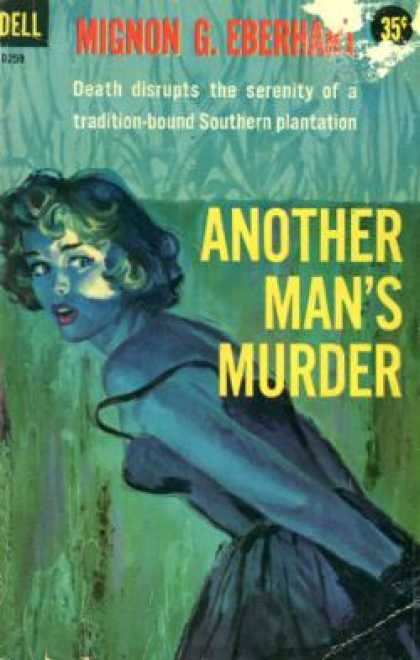 Dell Books - Another Man's Murder - Eberhart G. Mignon