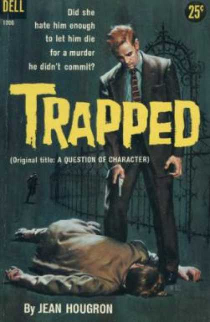 Dell Books - Trapped - Jean Hougron