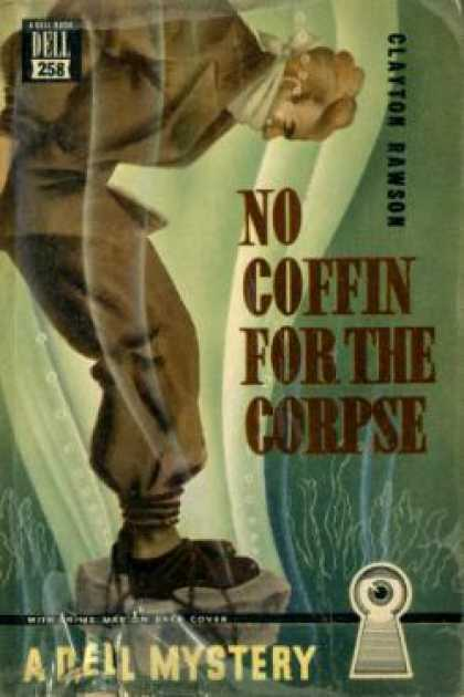 Dell Books - No Coffin for the Corpse