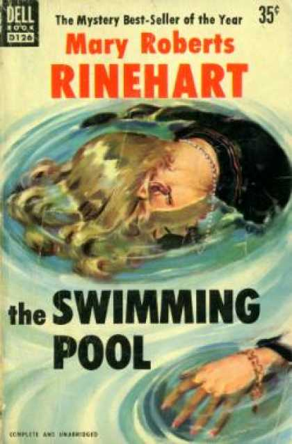 Dell Books - The Swimming Pool - Mary Roberts Rinehart