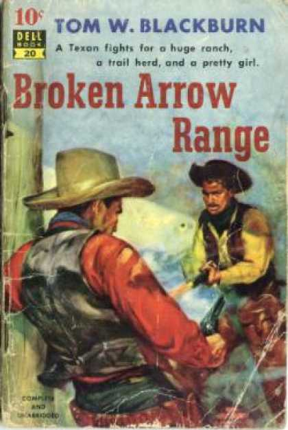 Dell Books - Broken Arrow Range - Tom W. Blackburn
