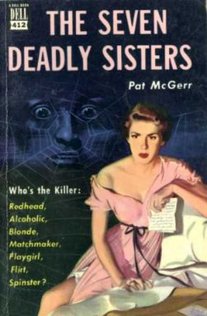 Dell Books - The Seven Deadly Sisters - Pat Mcgerr
