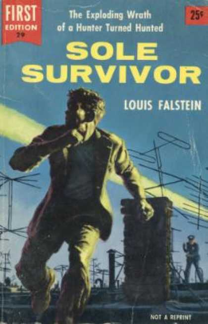 Dell Books - Sole Survivor - Louis Falstein