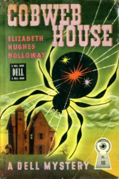 Dell Books - Cobweb House - Elizabeth Hughes Holloway