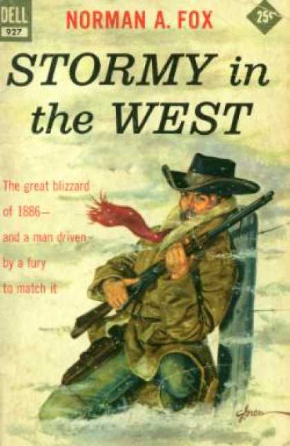 Dell Books - Stormy In the West - Norman Fox