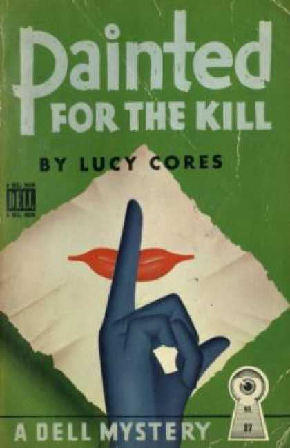 Dell Books - Painted for the Kill - Lucy Cores