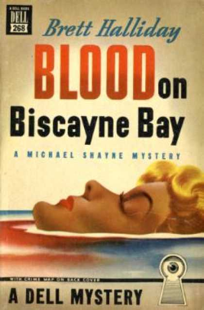 Dell Books - Blood on BIscayne Bay - Brett Halliday