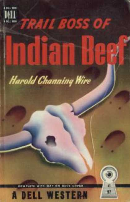 Dell Books - Trail Boss of Indian Beef - Harold Channing Ware