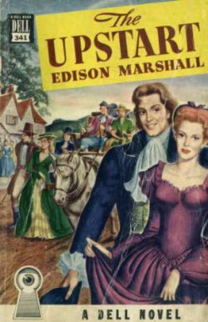 Dell Books - The Upstart - Edison Marshall