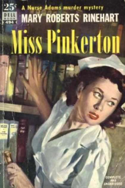 Dell Books - Miss Pinkerton