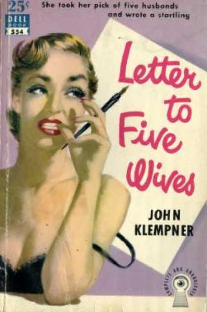 Dell Books - Letter To Five Wives. - John Klempner