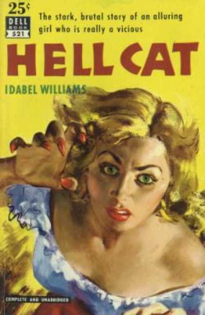 Dell Books - Hell Cat - Idabel Williams