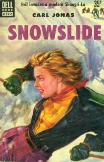 Dell Books - Snowslide - Carl Jonas