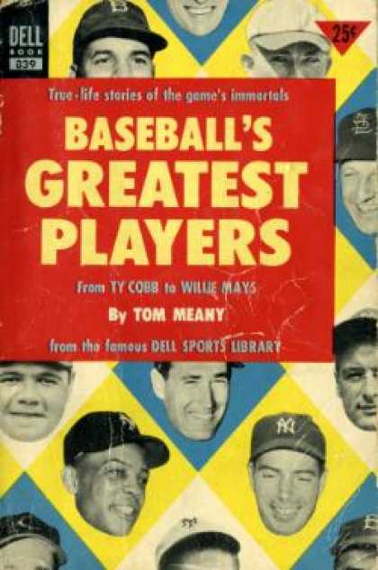 Dell Books - Baseball's Greatest Players - Tom Meany