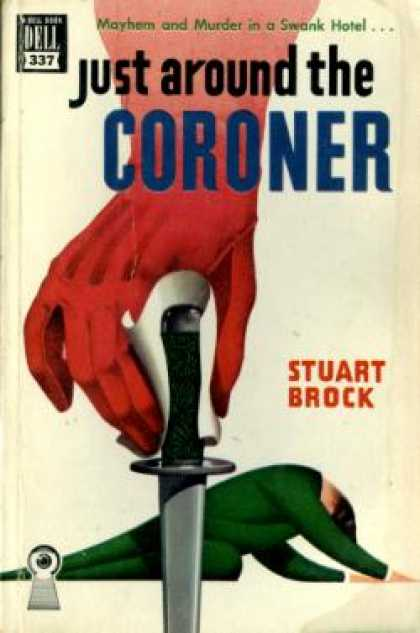 Dell Books - Just Around the Coroner - Stuart Brock