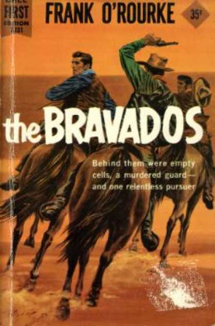 Dell Books - The Bravados - Frank O'rourke