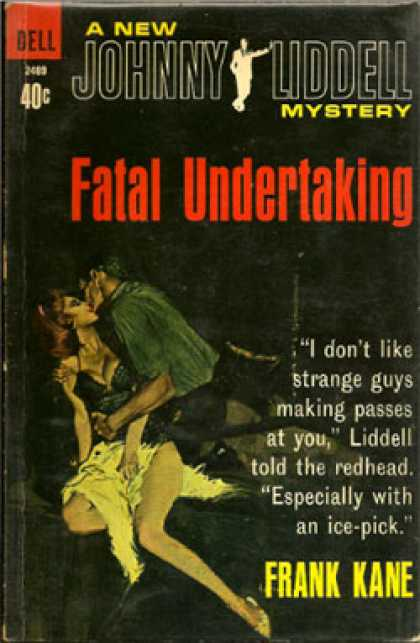 Dell Books - Fatal Undertaking - Frank Kane