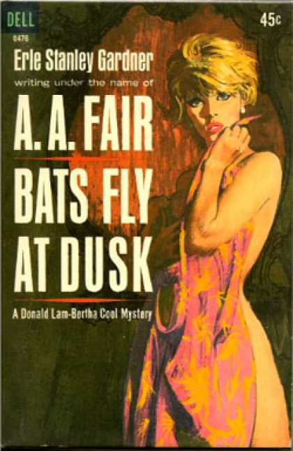 Dell Books - Bats Fly at Dusk - A. A. Fair