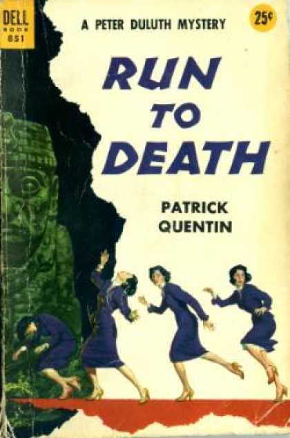 Dell Books - Run To Death - Patrick Quentin