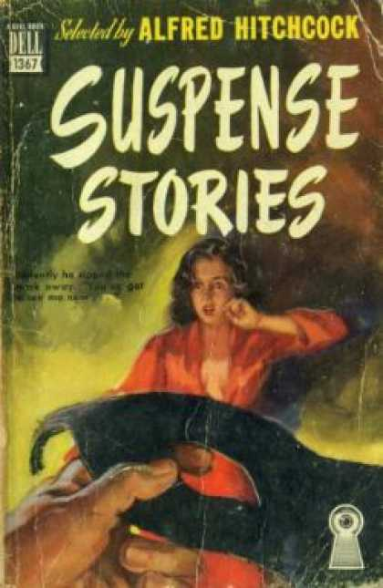 Dell Books - Suspense Stories - Alfred Hitchcock