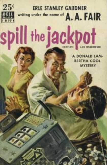 Dell Books - Spill of the Jackpot