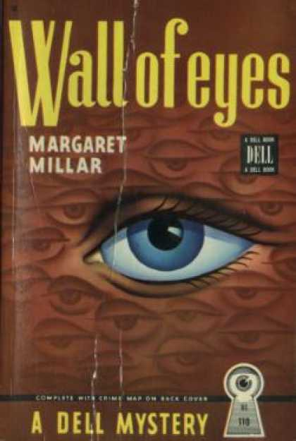 Dell Books - Wall of Eyes - Margaret Millar