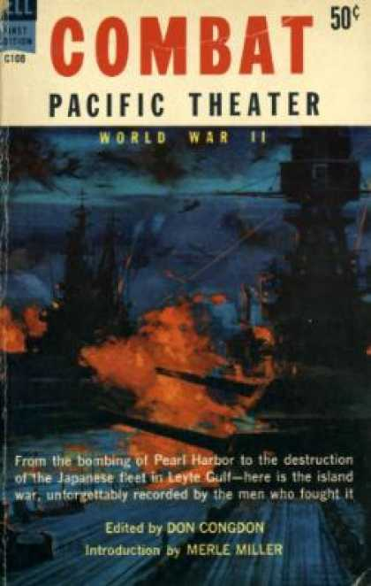 Dell Books - Combat Pacific Theater World War Ii - Don Congdon