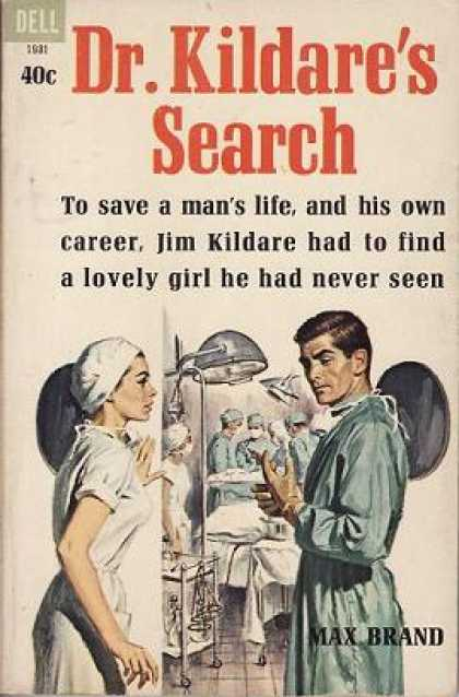 Dell Books - Dr. Kildare's Search - Max Brand