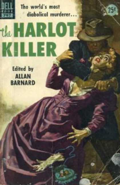 Dell Books - The Harlot Killer - Allan Barnard