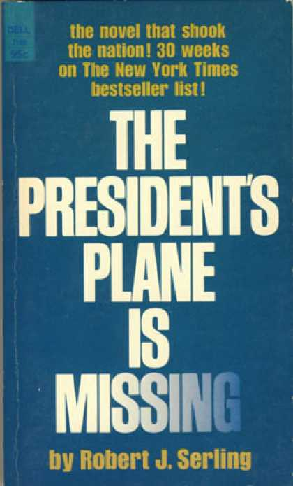 Dell Books - The Presidents Plane Is Missing