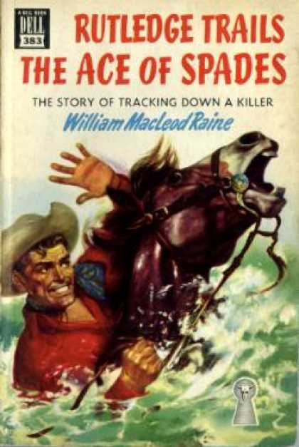 Dell Books - Rutledge Trails the Ace of Spades - William Macleod Raine
