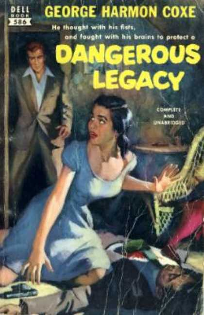 Dell Books - Dangerous Legacy - George Harmon Coxe
