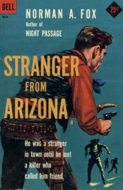 Dell Books - Stranger From Arizona - Norman A. Fox