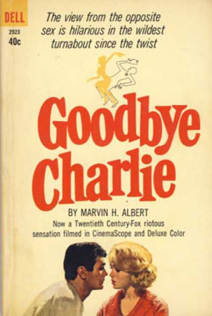 Dell Books - Goodbye Charlie - Marvin H Albert