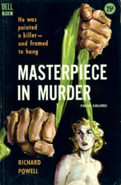 Dell Books - Masterpiece In Murder: - Richard Powell