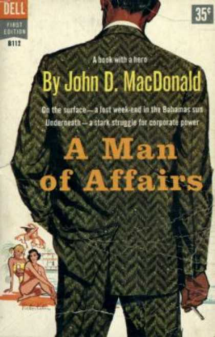 Dell Books - A Man of Affairs - John D. Macdonald