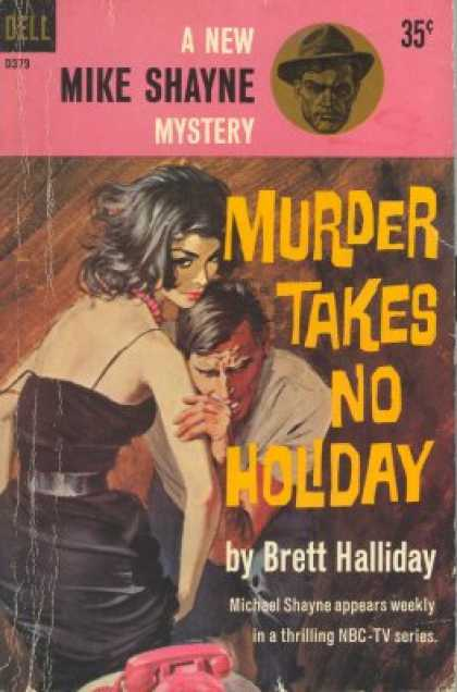 Dell Books - Murder Takes No Holiday - Brett Halliday