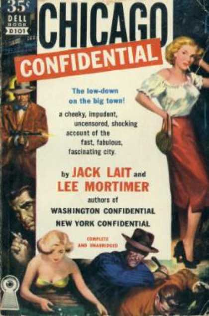 Dell Books - Chicago Confidential - Jack Lait
