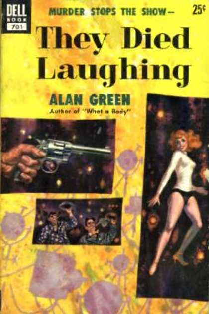 Dell Books - They Died Laughing - Alan Breen