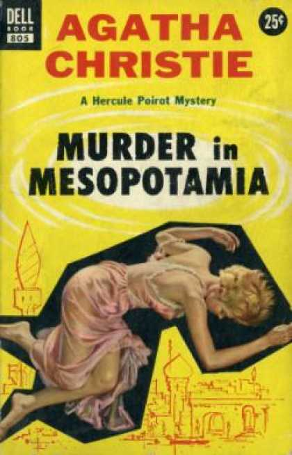 Dell Books - Murder In Mesopotamia