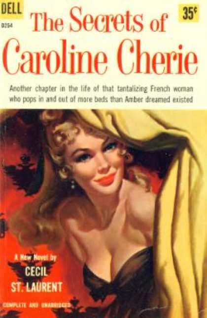 Dell Books - The Secrets of Caroline Cherie - Cecil Saint-laurent