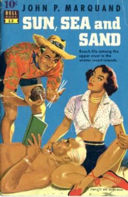 Dell Books - Sun, Sea and Sand - John P. Marquand