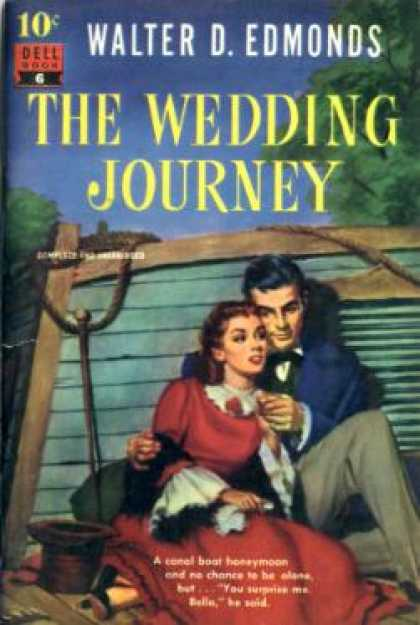 Dell Books - The Wedding Journey - Walter D. Edmonds