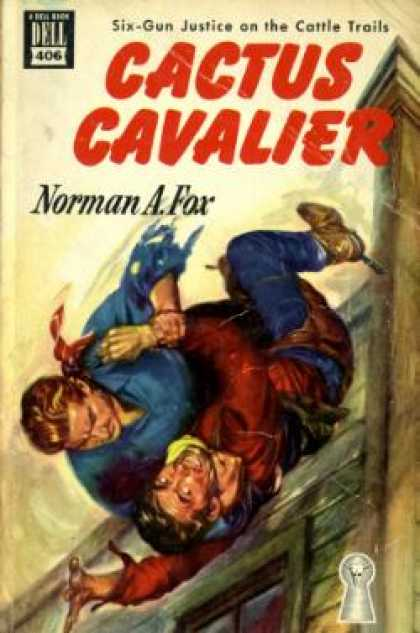 Dell Books - Cactus Cavalier - Norman A. Fox